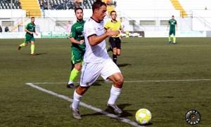 Cristo García, durante su segunda etapa en el Ceuta, la pasada temporada