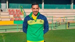 Cristian Núñez ya se ejercita con la UD Los Barrios