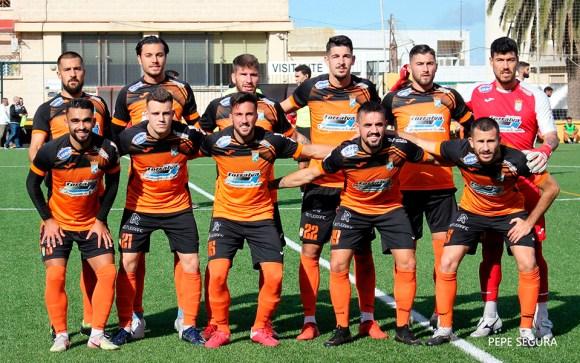 Formación del Xerez CD en su visita a Ceuta el pasado mes de diciembre