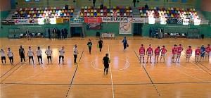 Ceutí y Noia empataron a tres goles en la primera vuelta en el 'Guillermo Molina'