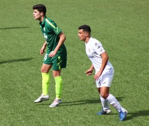 Kadiro, durante el partido del pasado domingo ante el CD Rota