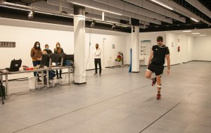 Las responsables de Deporte de la Ciudad han visto una demostración en el laboratorio del Campus