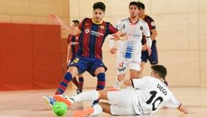 El Full Energía Zaragoza ha caído ante el Barça B y ha desperdiciado su segunda oportunidad para clasificarse