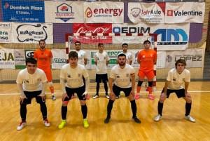 Formación inicial del Ceutí B, antes de su partido ante el Jaén B