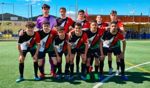 Formación del Sporting de Ceuta, este sábado en Dos Hermanas