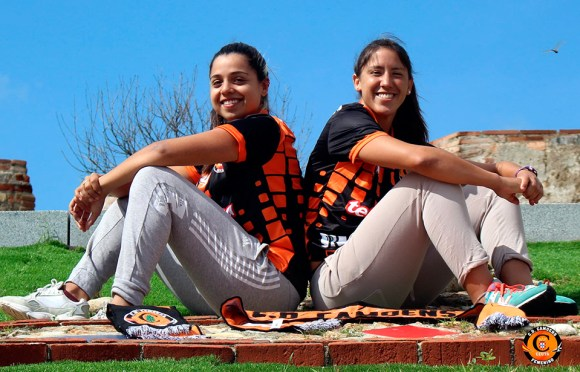 Fátima Villar y Maura Scaletti, las nuevas jugadoras del Camoens