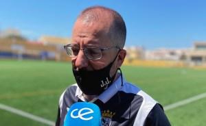 José Juan Romero, entrenador de la AD Ceuta FC
