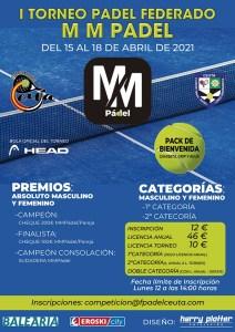 Cartel anunciador del primer torneo del calendario 2021 de la FPC