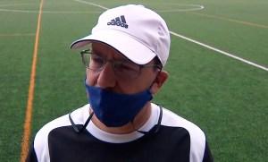 José Juan Romero, este martes en el José Martínez 'Pirri'
