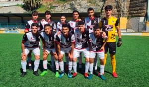 Formación del Sporting de Ceuta, este sábado en el Benoliel