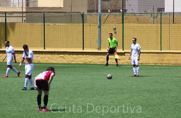 El extremo izquierdo vasco Aimar Gulín ha debutado con el Ceuta