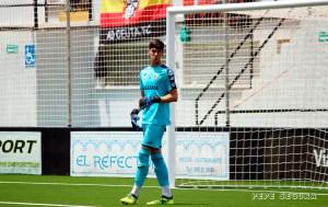 El joven Rodin defenderá la portería del Ceuta el domingo en Lucena
