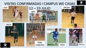 Estas son las visitas confirmadas por We Casas para su campus