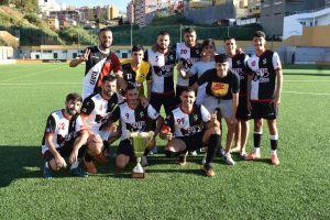 El Ceuta 6 de Junio jugará la previa de la Copa del Rey / Foto: FFCE