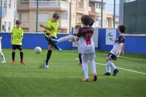 La segunda fase de la Liga Benjamín arranca este viernes / Foto: FFCE