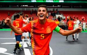 Nacho Torres fue capitán de la selección española sub-19 que ganó el Europeo de 2019