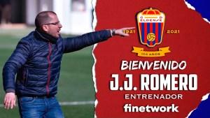 Así ha anunciado el Eldense en sus redes sociales el fichaje de Romero