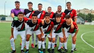 Formación del Sporting, este sábado en Córdoba