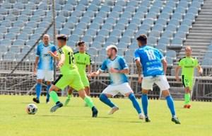 Xerez CD y Ceuta empataron a cero en La Juventud en su duelo de la primera fase de la Liga