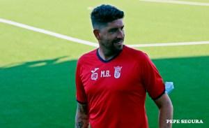 Miguel Ángel Berlanga, entrenador de la AD Ceuta FC 'B'