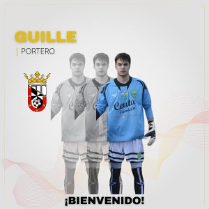 El meta Guille, otro fichaje del Ceuta 'B'