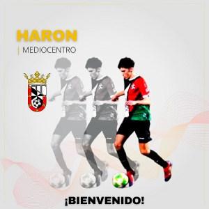 Haron, nuevo jugador de la AD Ceuta B