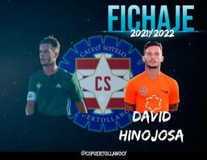 Hinojosa, nuevo jugador del Calvo Sotelo de Puertollano