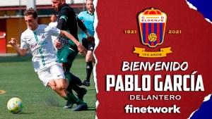 El Eldense ha hecho oficial este sábado la contratación de Pablo García