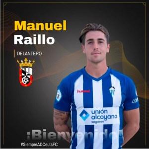 Manuel Raíllo ya es nuevo jugador de la AD Ceuta FC