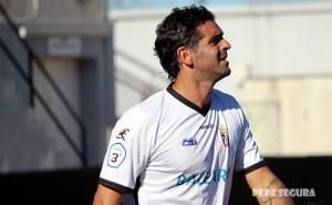 Williams Martínez, durante su etapa en la AD Ceuta FC