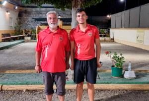 Ñoño y Antoñito Cano, ganadores del torneo
