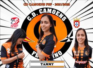 Tammy, nuevo refuerzo del CD Camoens para la próxima temporada