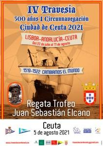 Cartel anunciador de la regata
