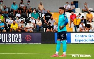 Alejo Agüera fue titular en el partido ante el Villanovense de la primera jornada