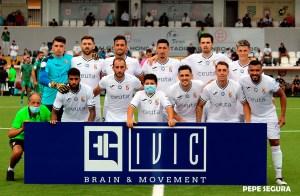 Primera formación inicial de la AD Ceuta FC en la presente temporada