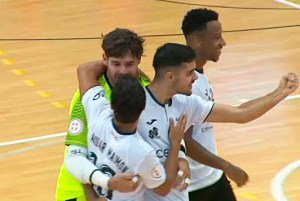 Hugo Alonso ha abierto la cuenta goleadora de la UA Ceutí