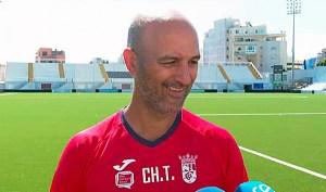 Chus Trujillo, entrenador de la AD Ceuta FC