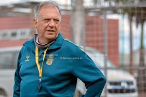 Juan Manuel Rodríguez, entrenador del filial de la UD Las Palmas