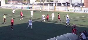 Un lance del partido disputado este sábado en Las Cabezas de San Juan