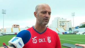 Chus Trujillo, este viernes en el Alfonso Murube