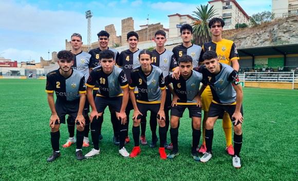 Formación del Sporting Atlético, este martes en el José Benoliel