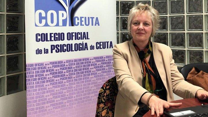 Connie Capdevila, en una imagen cedida por el Colegio Oficial de la Psicología de Ceuta.