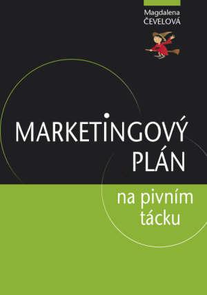 Marketingový plán na pivním tácku obálka