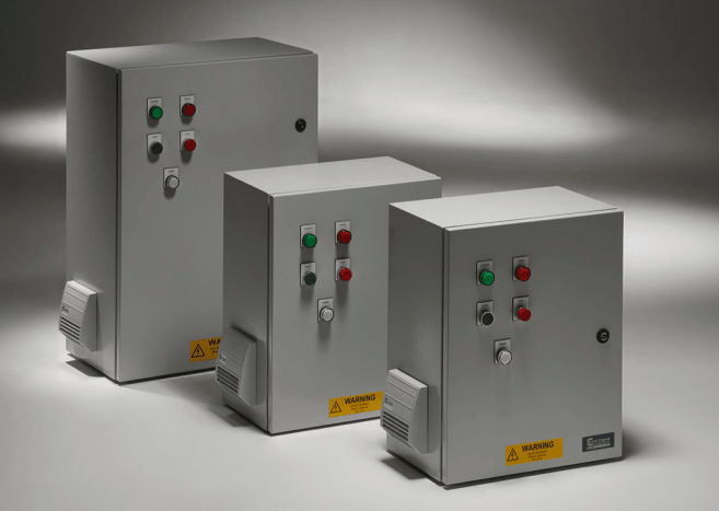 IP55 Steel Enclosed Variable Frequency Drives (Machine-Install Ready)