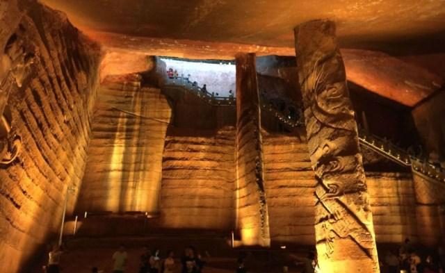 Očko: Tajomstvo starodávnych čínskych jaskýň Longyou   CEZ OKNO