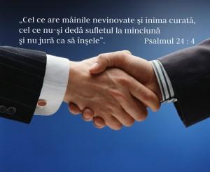 Mâini, Ps. 24.4