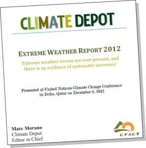 Extreme weather report cover CFACT angle