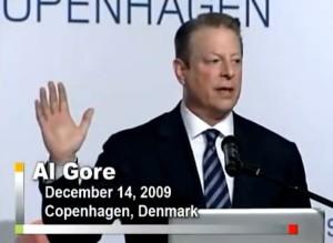 Al Gore COP 15 ice