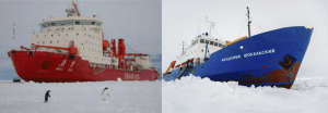 Antarctic ice traps climate researchers and ice breaker z