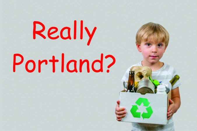 Portland Greens taxes could kill recycling plant